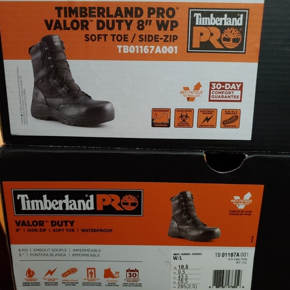 Timberland Valor Boots New in Box